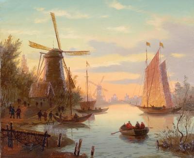 Вечерняя Голландия