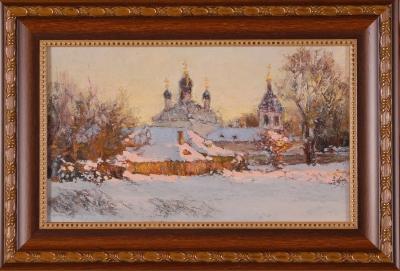 Церковь. Зима_1