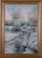 Зима. Речка